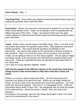 dbq on railroads essay example Sample dbq grade 11 source nysed our essay should be well organized with an introductory paragraph that states your position on the question.