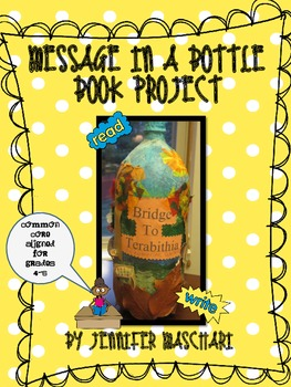 story in a bottle book report Based on a nicholas sparks novel, message in a bottle is the story of theresa who finds a message in a bottle along the shore.