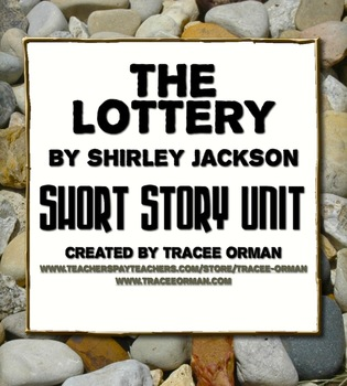 satire irony in 'the lottery' by shirley