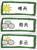 Chinese month,week and weather月份+星期+天气+句型练习 组图