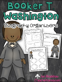 Booker T. Washington Biography Report Organizers ~ Black H