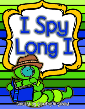 {$1 Deal} I Spy Long I with Quick Check