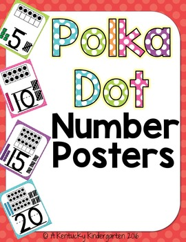$2 Deal! Number Posters