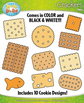 Crackers Clipart Set — Includes 20 Graphics!