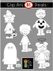 $1 Halloween Costume Kids Clip Art Dollar Deal 6