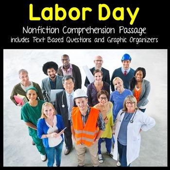 Labor Day Reading Passages - Nonfiction Text & Questions