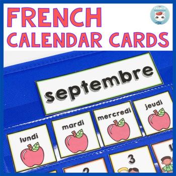 French September Calendar Cards | SEPTEMBRE