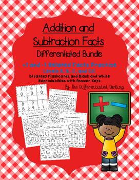 +1 and -1 Related Facts Flashcards and Handouts