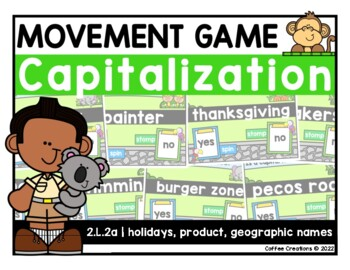 {2.L.2a} Capitalize Holidays, Product, & Geographic Names