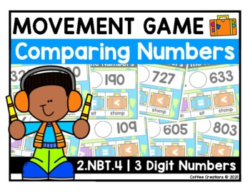 {2.NBT.4} Comparing Numbers Interactive Game
