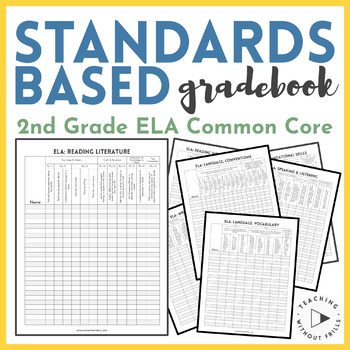 {2nd Grade Common Core Standards} English Language Arts Ch