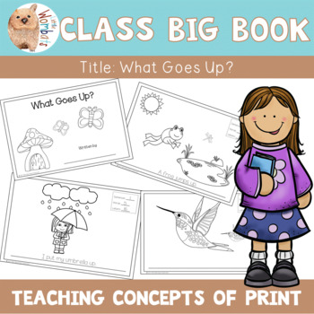 Concepts of Print Big Book - Teaching Letters, Words and S