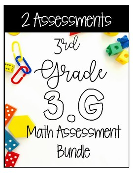 ** 3G CCSS Based Assessments - Includes 20 Questions for 3