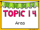 (3rd Grade) Envision Math Vocabulary Posters: Topic 14