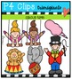 Circus Time {P4 Clips Trioriginals Digital Clip Art}