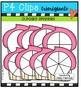Cupcake Spinners {P4 Clips Trioriginals Digital Clip Art}