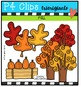Fall Fun  {P4 Clips Trioriginals Digital Clip Art}