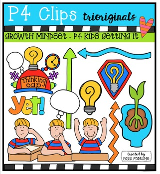Growth Mindset - P4 Kids Thinking {P4 Clips Trioriginals}