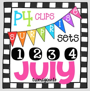 P4 SURPRISE SET July {P4 Clips Trioriginals Digital Clip Art}