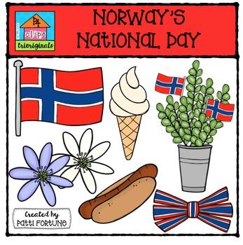 Norway's National Day {P4 Clips Trioriginals Digital Clip Art}