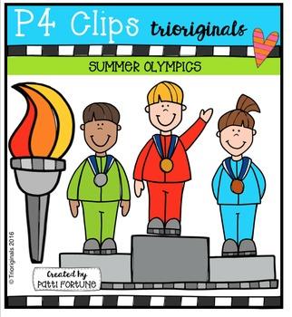 Summer Athletes Competition {P4 Clips Trioriginals Digital