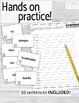 AR Verbs & Frequency- Scrambled Sentences