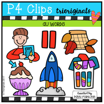AU Words (P4 Clips Trioriginals Clip Art)