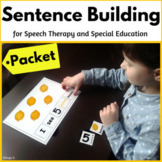 Build a Sentence BUNDLE for Speech Therapy and Special Education