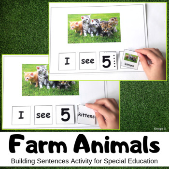 Build a Sentence- Farm Animals