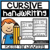 Handwriting Practice A-Z NO PREP Print and Go Cursive