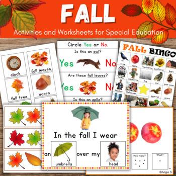 #DEALSINOCTOBER Fall Bundle- Vocabulary Cards, Activities,