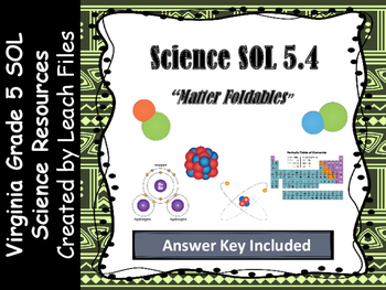 **50%OFF LIMITED TIME** GRADE 5 VIRGINIA SCIENCE SOL 5.4 M