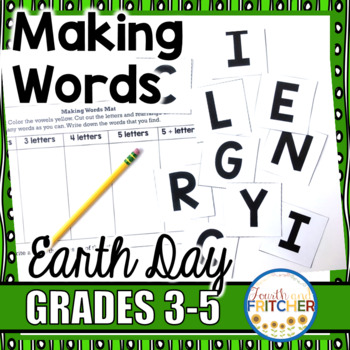 Making Words for Earth Day