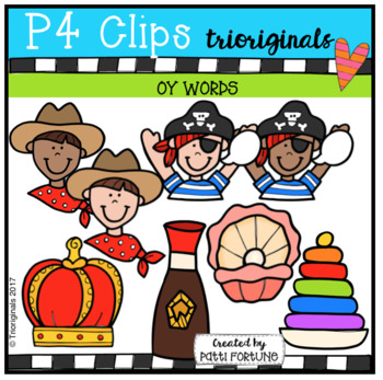 OY Words (P4 Clips Trioriginals Clip Art)