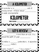 Linear Measurement Interactive Notebook