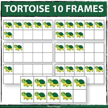 Tortoise 10 Frame Clipart