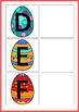 Upper Case & Lower Case Letter Matching Activity- Easter Eggs