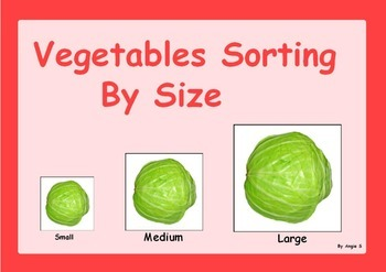 Vegetables Sorting by Size