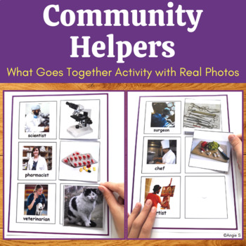 What Goes With- Community Helpers