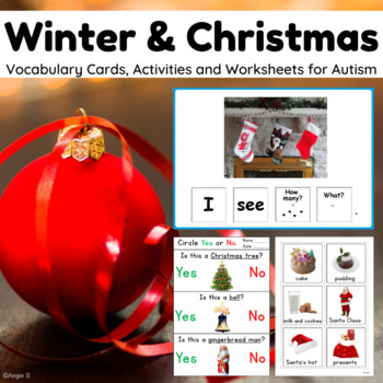 #thriftythursday Winter & Christmas BUNDLE for Autism and