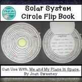 Solar System Circle Flip Book