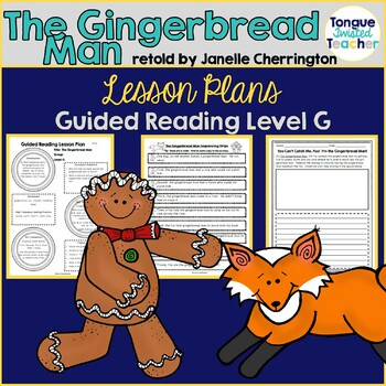 The Gingerbread Man, Janelle Cherrington, Guided Reading L