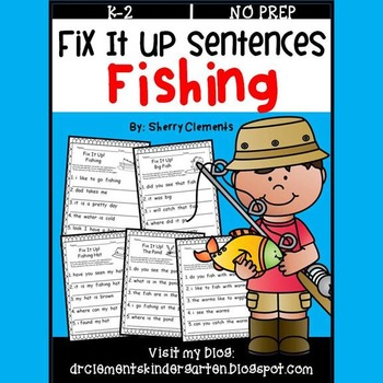 Fishing Fix It Up Sentences