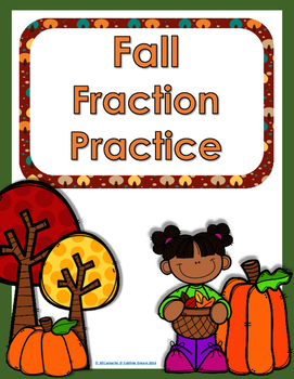 #spookydeals Fall Fractions Practice- add/subtract, multi