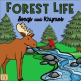 Forest Songs & Rhymes | Forest Animals | Trees | Woodlands