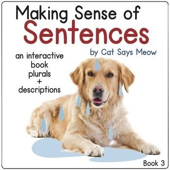 Making Sense of Sentences: Interactive Book 3 (Plurals, De