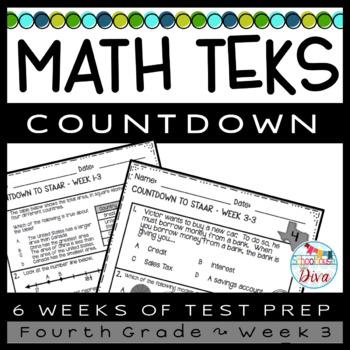 STAAR Math Week 3