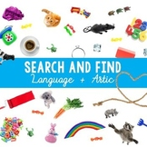 Search and Find: Language and Articulation (I Spy)