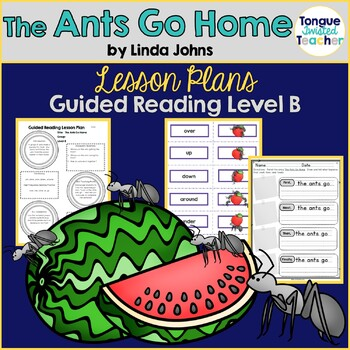 The Ants Go Home by Linda Johns Guided Reading Lesson Plan