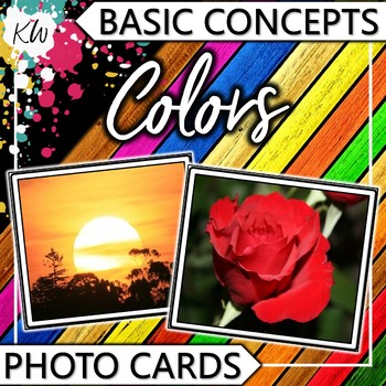 Colors Photo Flashcards